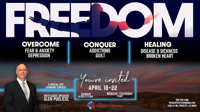Freedom Prescott Revival with Glen Pugliese