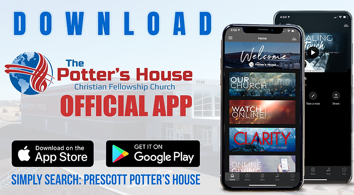 Download The Potter's House Christian Fellowship Church's official app