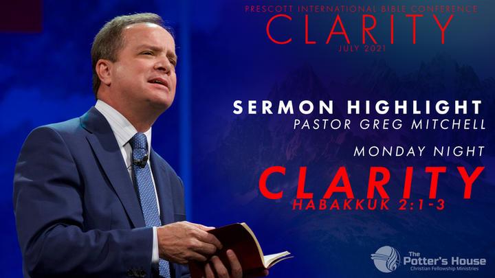 Pastor Greg Mitchell - Monday Night conference