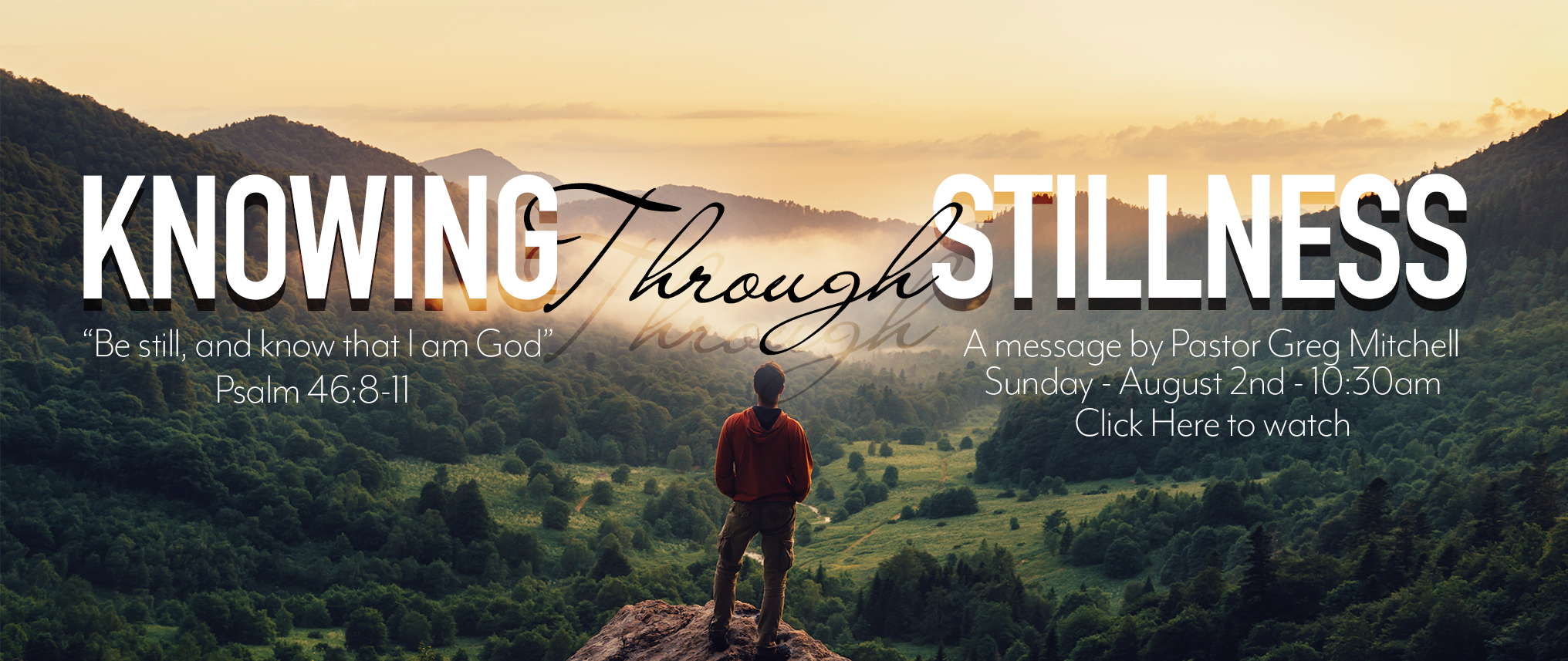 Knowing Through Stillness web banner