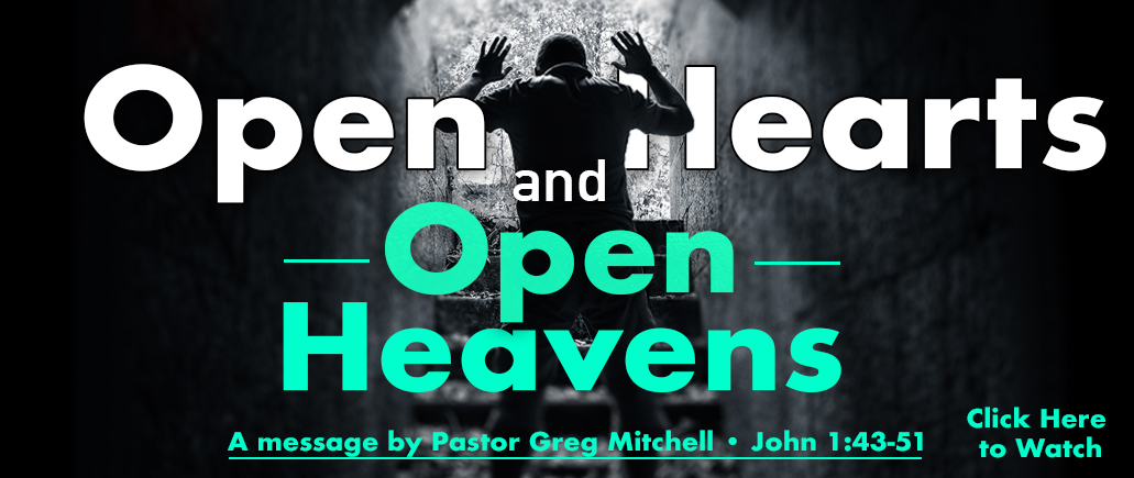 Open Hearts and Open Heavens Web Banner.