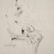 Study for figures and chairs