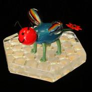 Hades the Rainbow Bee by Jayda (age 10)