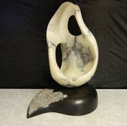 Stone Sculpture by Joanne Duby