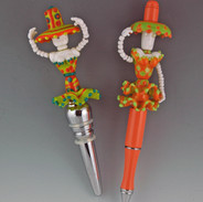 Catrina Day of the Dead bottle stoppers