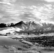 Mount Herard Great Sand Dunes National Park Coloraod September, 1990 #25590