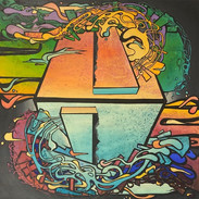 My Cube Broken Sheen by G. Cody Day