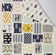 Woodland Baby Quilt by Lynn Dowell-Peterson
