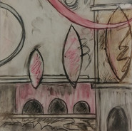 Aquaducts in Red and Gray by Catherine Carilli
