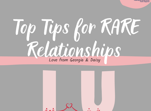 Top Tips for RARE Relationships