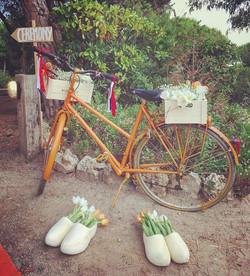 🎶Lleva, llévame en tu bicicleta🎶 Boda Holandés-Brasileña😍 #eventos #boda #bodasbonitas #bodas2017