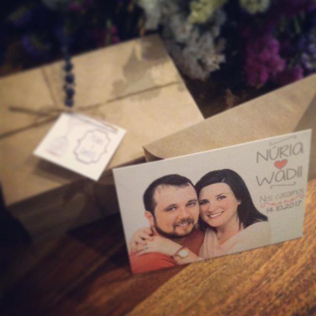 Estas fueron las invitaciones que diseñé para una pareja muy 🔝! 💑 Y hace poco menos de un mes se d