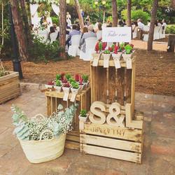 Seguimos recordando la bonita boda de Lia&Spencer!!😍Mini🌵 para todos 😊#eventos #rinconesbonitos #