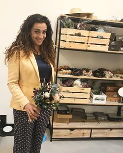 Hace unos días tuve el placer de conocer a Alba de _margotblanxart y su precioso taller junto a Judi