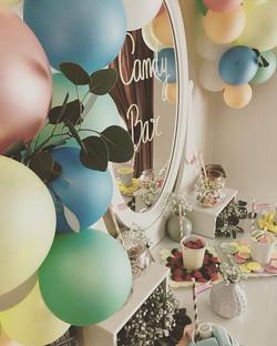 Candy bar para el bautizo de Manuela!! Y ahora a disfrutar de este sábado soleado ☀️ #bautizo #event