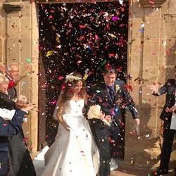VIVA LOS NOVIOS🎉 Enhorabuena pareja, que seáis muy felices! #eventos #boda #bodas #novios #ceremoni
