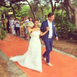 Felicidades pareja!! Fue un placer poder participar en vuestro día!! 😊#eventos #boda #bodasbonitas