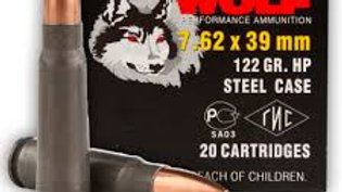 7.62x39 122GR 20 rounds