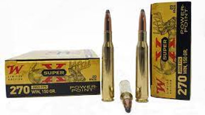 Winchester 270win 150gr 20rds