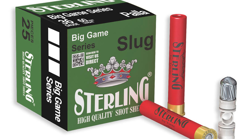 """Sterling 410, 2 1/2"""" 25 rounds"""