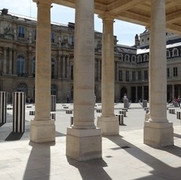 Courtyard of Honour with the Buren Columns