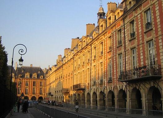 Place-des-vosges Visit the Hidden Paris.