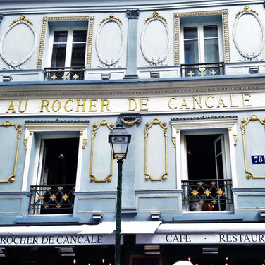 Le Rocher de Cancale, fresh seafood delivered daily from the coast since 1804