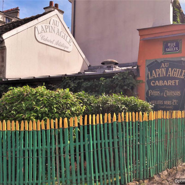 Lapin Agile Vist the Hidden Paris