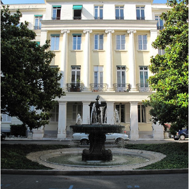 Frédéric  Chopin,George Sand,Alexandre Dumasall lived here
