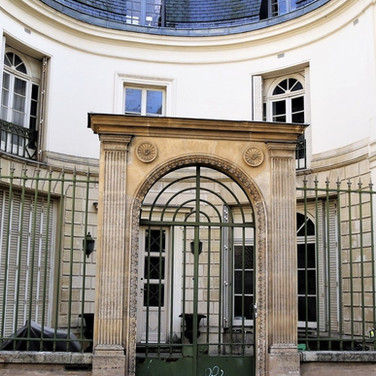 Entrance to private mansion from 1820