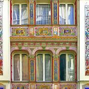 Façade peinte (1856)
