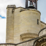 Bell tower on the battlements