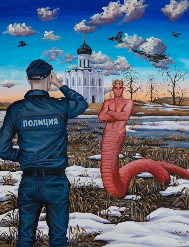 The serpent of the Nerl river / Змей Нерлинский