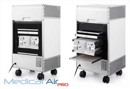 Medical Air pro vista filtri posteriori.