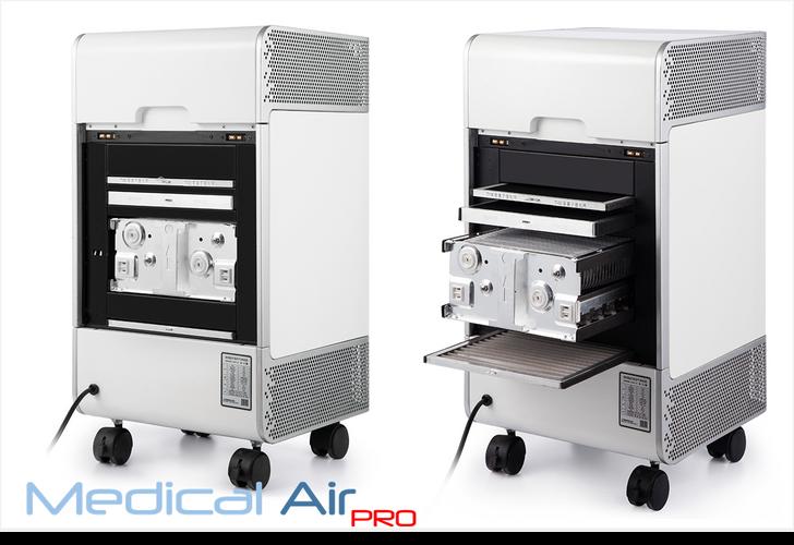 Medical Air pro vista filtri posteriori.