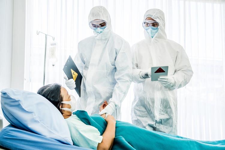 Camere clienti infetti Medical Air pro.j