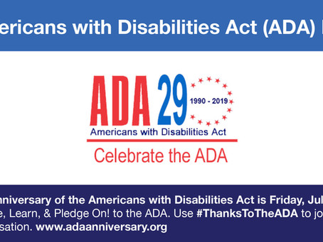Thanks to the ADA, We Are Able to Say #StopMakingItWeird
