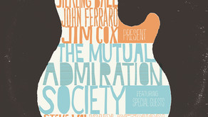THE MUTUAL ADMIRATION SOCIETY STIRLING BALL, JOHN FERRARO AND JIM COX