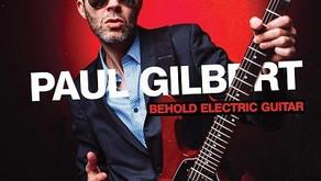 PAUL GILBERT BEHOLD ELECTRIC GUITAR ALBUM REVIEW