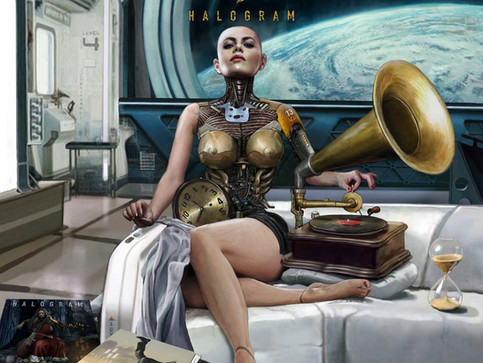 NEW MUSIC: HALOGRAM RELEASE 'OBSOLETE FUTURE'