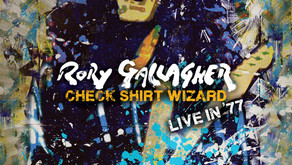 ALBUM REVIEW: RORY GALLAGHER- CHECK SHIRT WIZARD  LIVE IN  '77