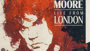 ALBUM REVIEW: GARY MOORE 'LIVE FROM LONDON'