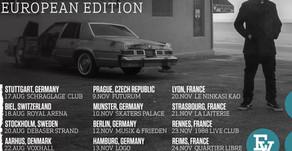 EVIDENCE ANNOUNCES EUROPEAN TOUR
