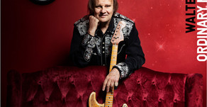 NEWS: WALTER TROUT ANNOUNCES NEW ALBUM 'ORDINARY MADNESS'