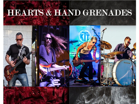 Q & A WITH HEARTS & HAND GRENADES