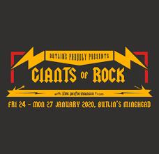 BUTLIN'S GIANTS OF ROCK 2020