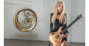 NEWS: ORIANTHI SIGNS WITH FRONTIERS MUSIC FOR FIRST ALBUM IN SEVEN YEARS