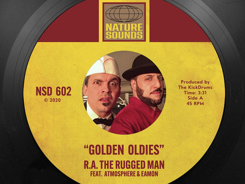 RA THE RUGGED MAN TEAMS UP WITH ATMOSPHERE FOR 'GOLDEN OLDIES'