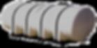 1610 Gallon Leg Tank