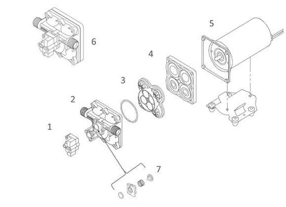 Shurflo 5059 Series Diagram